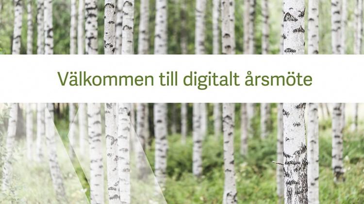 Digitalt årsmöte för sbo Uppsala